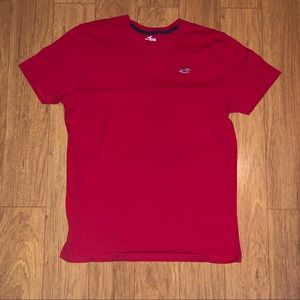 Hollister Must Have Crew Neck Tee Red NEVER WORN